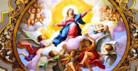 Augusztus 15.Szűz Mária mennybevétele (Nagyboldogasszony)