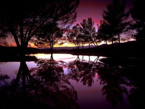 Castaic_Lake_Sunset,_Santa_Clarita,_California