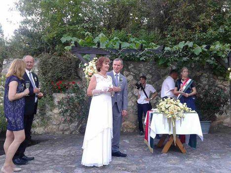 Judit, Sanyi esküvő