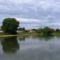 Mosoni-Duna a Mecsér község belterülete melletti szakaszon, Mecsér 2017. július 26.-án 1