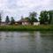 Mosoni-Duna Mecsér község belterülete melletti szakaszon, Mecsér 2017. július 26.-án 10
