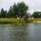 Mosoni-Duna Mecsér község belterülete melletti szakaszon, Mecsér 2017. július 26.-án 20