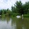 Mosoni-Duna Mecsér község belterülete melletti szakaszon, Mecsér 2017. július 26.-án 22
