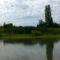 Mosoni-Duna Mecsér község belterülete melletti szakaszon, Mecsér 2017. július 26.-án 24