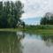 Mosoni-Duna Mecsér község belterülete melletti szakaszon, Mecsér 2017. július 26.-án 27