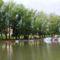 Mosoni-Duna Mecsér község belterülete melletti szakaszon, Mecsér 2017. július 26.-án 6