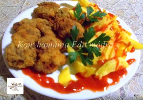 Rántott csirkemáj
