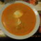 Savanyú burgonya leves főtt tojással.