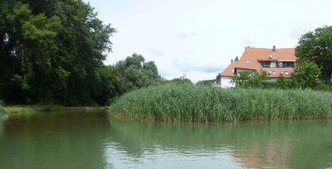 A Mosoni-Duna jobb part, Lajta torkolat 2017. július 25.-én