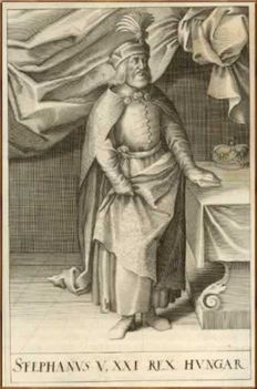 V. István magyar király 1270-1272.