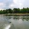 Ásványi fenékküszöb a felvízről nézve, Ásványráró 2017. május 15.-én 1