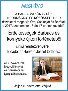 dr.Horváth József előadása