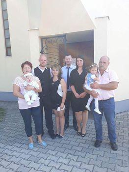 Keresztelő - Takács család