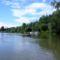 Mosoni-Duna Mecsér község belterülete feletti szakaszon, 2017. július 26.-án 3