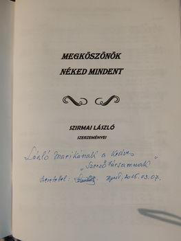 Szirmai László (OSZK igazgató ) Szerző első  nótás kiadványa
