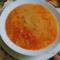 Zöldbab leves.