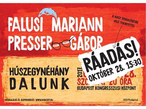 Falusi Mariann - Presser Gábor, Ráadás