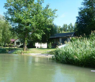 Mosoni-Duna a Cvika Campingnél, Kimle 2017. július 25.-én