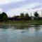Mosoni-Duna jobb partja Mosoni strand melletti szakaszon, Mosonmagyaróvár 2017. július 25.-én 2
