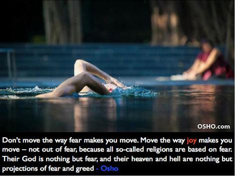 """""""Ne abba az irányba mozdulj, amerre a félelem vinne..."""