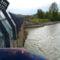A Mosoni-Duna felső vízpótlását biztosító létesítmény, Dunacsúny (Cunovo), 2017. szeptember 03.-án