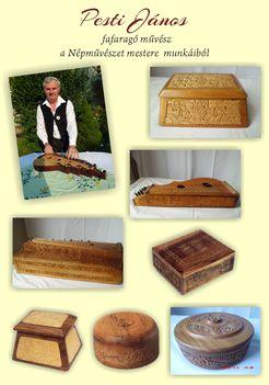 Pesti János fafaragó, a Népművészet mestere