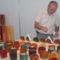 Szél József családi kreatív műhelyük termékeivel
