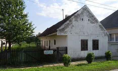 Wurcz-ház, horvát nemzetiségi Tájház (Selska Hizsa) Bezenye, 2017. szeptember 30.-án