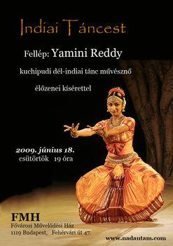 Yamini Reddy előadás, FMH, 2009.06.18.