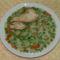 Brokkolis finomfőzelék pulykasülttel