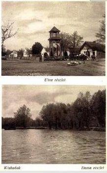 Kisbodak község régi képeslapon