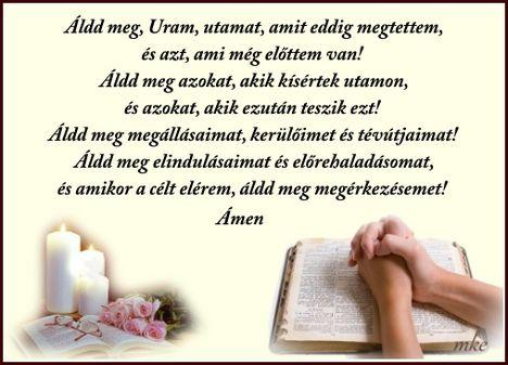 Áldd meg Uram utamat