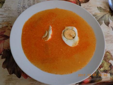 Savanyú burgonya leves