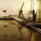 A 130 éve épített vizimalom helyén még ma is működik a Márialigeti vízerőtelep, Hegyeshalom 2016. augusztus 22.-én 3