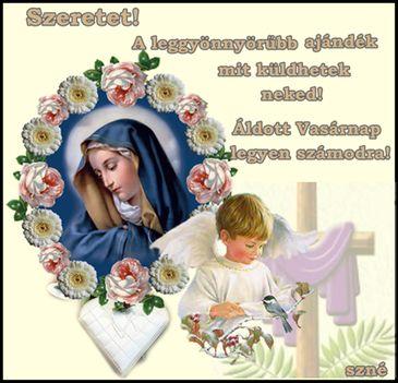 Ennél szebbet nem is kívánhatok nektek, Áldott Vasárnapot!!