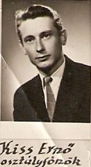 Ernő bácsi az 1960-as években