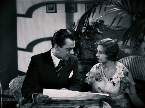 Jávor Pál és Fenyvessy Éva az 1931-es Hyppolit, a lakáj című filmben