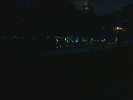 Szines lámpás finálé