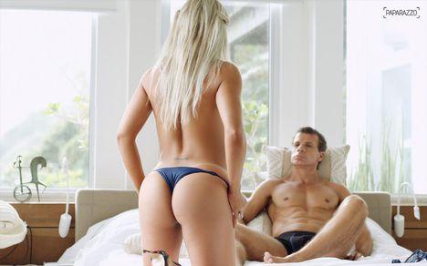 Tulio Maravilha és Cristiane egykori játékos jelentette az ő forró felesége-19