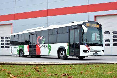 credo busz szürő busz