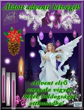 Advent  első gyertya