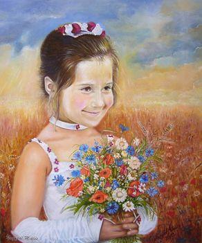 Bojana - a virágot neked szedtem