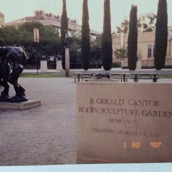 Rodin szoborkert