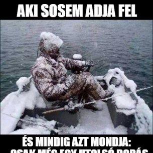 utolsó horgászat