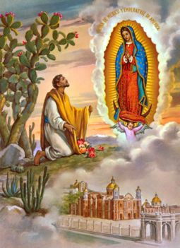 December 9.Szent Juan Diego Cuauhtlatoatzin, Guadalupei látnok