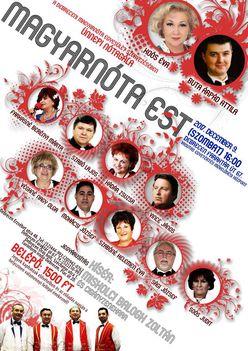 Magyarnóta Est 2017. dec. 9