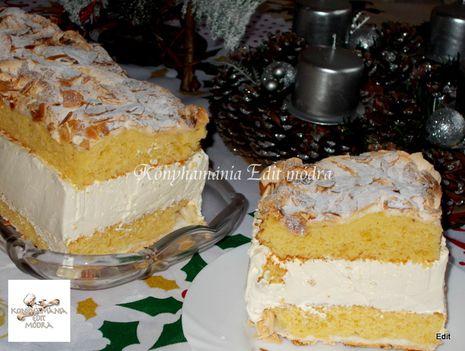Verdens Beste norvég ünnepi sütemény