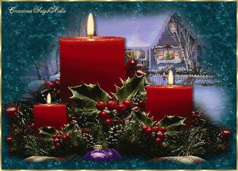 Advent 3. gyertya