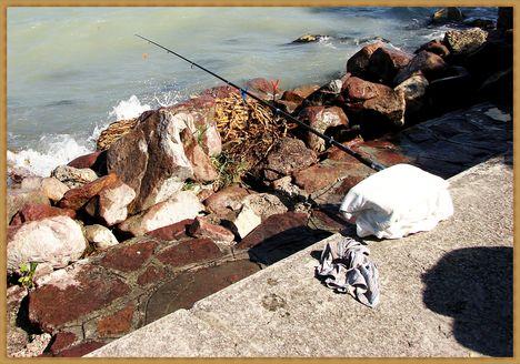 Balaton, siófoki horgászok. 7