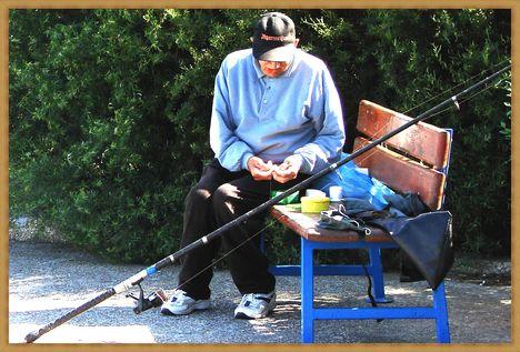 Balaton, siófoki horgászok. 8